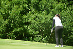 HOUSTON, TX - MAY 19: Seher Atwal of Rollins College hits the ball during the Division II Women's Golf Championship held at Bay Oaks Country Club on May 19, 2018 in Houston, Texas. Atwal finished tied for seventh place with seven over par score of 295. (Photo by Justin Tafoya/NCAA Photos via Getty Images)