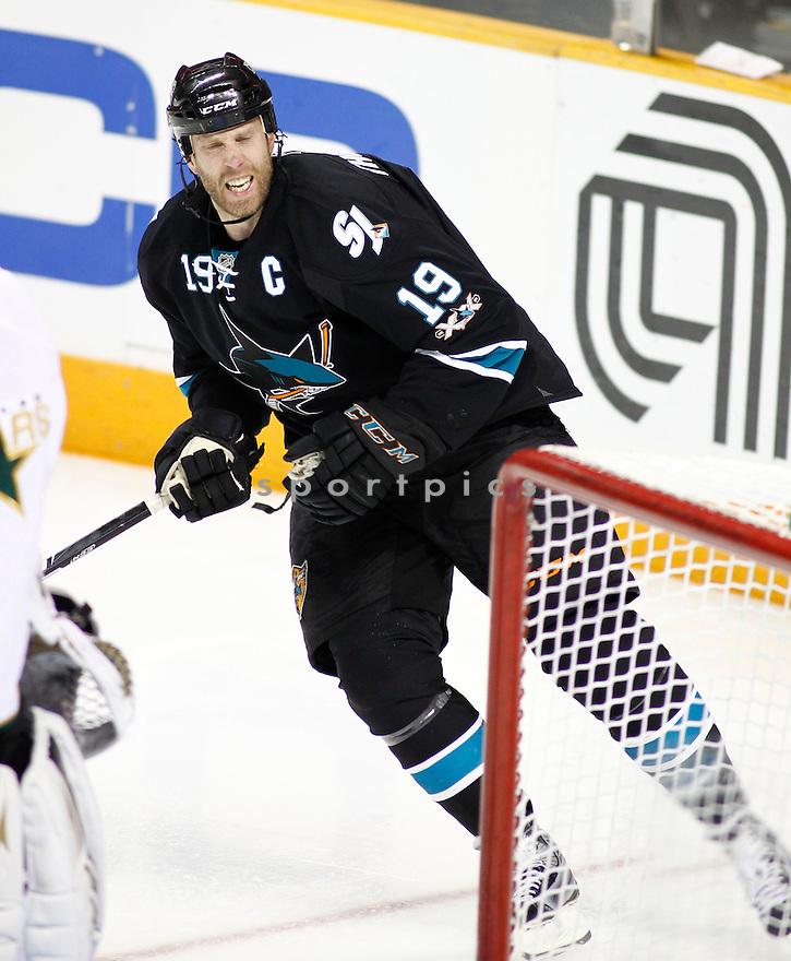 JOE THORNTON, of the San Jose Sharks.