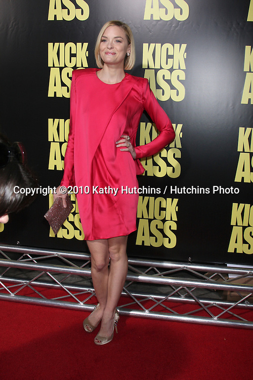 "Jamie King.arrives at  the ""Kick-Ass"" Premiere.ArcLight Dome Theater.Los Angeles, CA.April 13, 2010.©2010 Kathy Hutchins / Hutchins Photo..."