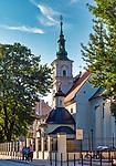 Kościół św. Floriana – parafialny kościół rzymskokatolicki  na rogu ul. Warszawskiej i placu Matejki .