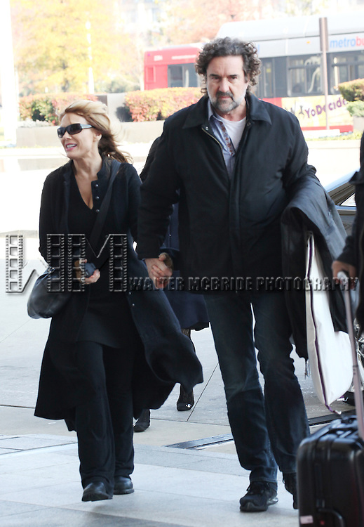 Nancy Wilson (HEART) & husband Geoff Bywater attending the Rehearsals for the 35th Kennedy Center Honors at Kennedy Center in Washington, D.C. on December 2, 2012
