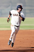 Nick Noonan - San Francisco Giants - 2010 Instructional League.Photo by:  Bill Mitchell/Four Seam Images..