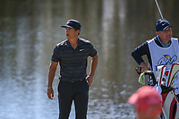 Thorbjorn Olesen (DEN) is disappointed after barely missing his birdie putt on 18 during round 2 of the Arnold Palmer Invitational at Bay Hill Golf Club, Bay Hill, Florida. 3/8/2019.<br /> Picture: Golffile | Ken Murray<br /> <br /> <br /> All photo usage must carry mandatory copyright credit (&copy; Golffile | Ken Murray)