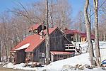 Sugar and Spice sugar shack in Rutland, VT, USA