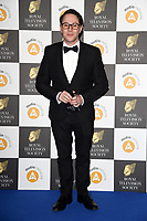LONDON, UK. March 19, 2019: Reece Sheersmith arriving for the Royal Television Society Awards 2019 at the Grosvenor House Hotel, London.<br /> Picture: Steve Vas/Featureflash