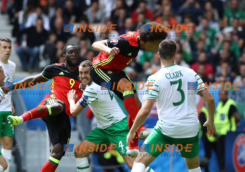 Axel Witsel scoring the goal of 2-0 <br /> Bordeaux 18-06-2016 Nouveau Stade Footballl Euro2016 Belgium - Republic of Ireland  / Belgio - Irlanda Group Stage Group E. Foto Matteo Ciambelli / Insidefoto