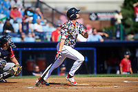 Reading Fightin Phils left fielder Dylan Cozens (31) at bat during a game against the New Hampshire Fisher Cats on June 6, 2016 at FirstEnergy Stadium in Reading, Pennsylvania.  Reading defeated New Hampshire 2-1.  (Mike Janes/Four Seam Images)