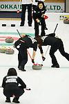 Yumie Funayama (Fortius), SEPTEMBER 16, 2013 - Curling : Olympic qualifying Japan Curling Championships Women's Final second Mach between Chuden 7-6 Fortius at Dogin Curling Studium, Sapporo, Hokkaido, Japan. (Photo by Yusuke Nakanishi/AFLO SPORT)