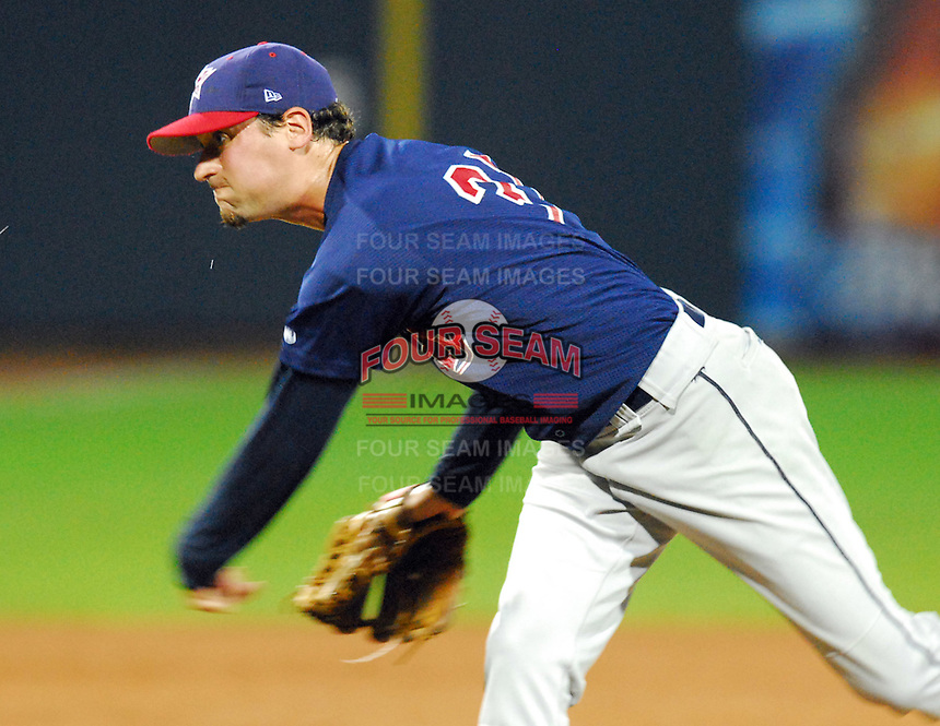 Lindsay Gulin of the Huntsville Stars at the 2007 Southern League All-Star Game July 9, 2007, at Trustmark Park, sponsored by the Mississippi Braves, in Pearl, Miss. Photo by:  Tom Priddy/Four Seam Images
