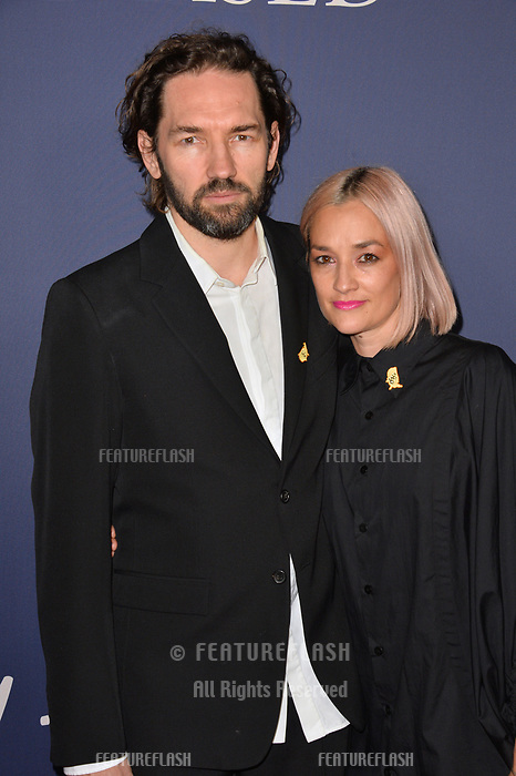 LOS ANGELES, CA. October 29, 2018: Nash Edgerton &amp; Carla Ruffino at the Los Angeles premiere for &quot;Boy Erased&quot; at the Directors Guild of America.<br /> Picture: Paul Smith/Featureflash
