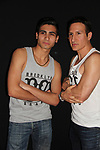 "Actors William DeMeo & Cristian DeMeo in film - Brooklyn, New York celebaates William DeMeo's upcoming role in Gotti film in which he plays Sammy ""The Bull"" Gravano in a block party on May 23, 2018 along with cast.  (Photo by Sue Coflin/Max Photos)"