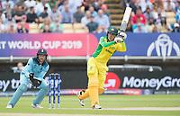 Alex Carey (Australia) holes out to deep mid wicket during Australia vs England, ICC World Cup Semi-Final Cricket at Edgbaston Stadium on 11th July 2019