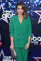 LONDON, UK. March 07, 2019: Chloe Lewis arriving for the Global Awards 2019 at the Hammersmith Apollo, London.<br /> Picture: Steve Vas/Featureflash