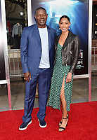 WESTWOOD, CA - APRIL 11: Dennis Haysbert (L) and Katharine Haysbert attend the premiere of 20th Century Fox's 'Breakthrough' at Westwood Regency Theater on April 11, 2019 in Los Angeles, California.<br /> CAP/ROT/TM<br /> &copy;TM/ROT/Capital Pictures