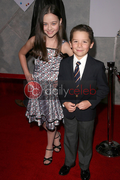 Abigail Droeger and Thomas Hoffman <br /> at the Los Angeles Premiere of 'Bedtime Stories'. El Capitan Theatre, Hollywood, CA. 12-18-08<br /> Dave Edwards/DailyCeleb.com 818-249-4998