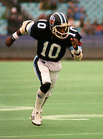 Terry Greer Toronto Argonauts 1983. Copyright photograph Scott Grant