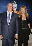 Producers Stuart Thompson and Sonia Friedman attend the Broadway Opening Night performance of 'King Charles III' at the Music Box Theatre on November 1, 2015 in New York City.