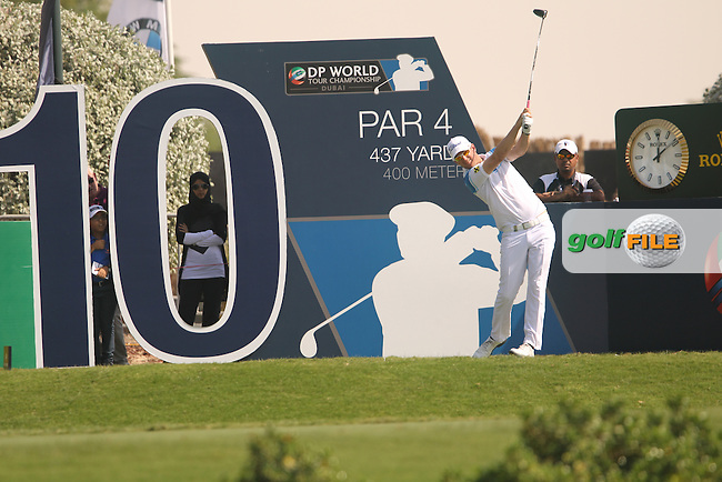 Bernd WIESBERGER (AUT) during round 2 of the season ending DP World, Tour Championship, Dubai, UAE.<br /> Picture: Denise Cleary www.golffile.ie