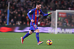 18.12.2016 Leo Messiin action during game between FC Barcelona against RCD Espanyol at Camp Nou. La liga day 16