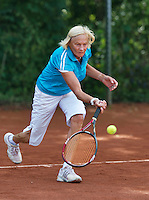 August 24, 2014, Netherlands, Amstelveen, De Kegel, National Veterans Championships, Anneke Jelsma-de Jong (NED)<br /> Photo: Tennisimages/Henk Koster