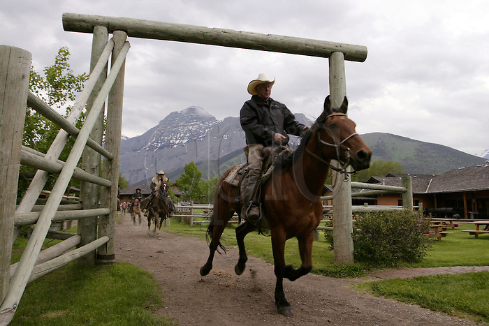 The Boundary Ranch in Kananaskis, Alberta on Sunday, June 22, 2004. .Photo Credit: John Ulan/Epic Photography
