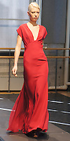 """Plunge neck gown with open back"", RITA VINIERIS FALL 2013, Fashion Documentation Photography"
