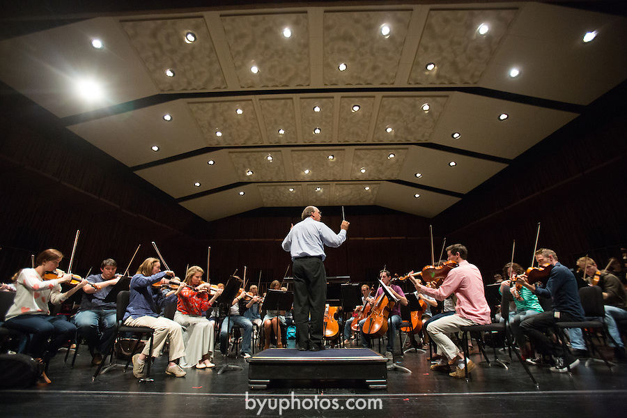 1309-67 162<br /> <br /> 1309-67 Music - Philharmonic Orchestra Rehearsal. De Jong Stage.<br /> <br /> Instruments<br /> Class<br /> Conductor<br /> <br /> September 30, 2013<br /> <br /> Photo by Bella Torgerson/BYU<br /> <br /> © BYU PHOTO 2013<br /> All Rights Reserved<br /> photo@byu.edu  (801)422-7322