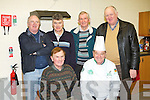 COOKING COURSE: Chef John Murray who will hold a cooking night at Tralee Mens Shed at Tralee Mart seated l-r: John Foley and John Murray. Back l-r: Seamus McCarthy, Willie Joe O'Halloran, Paudie Nolan and Mike McCarthy.