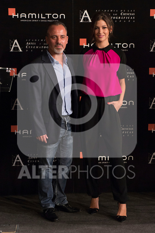 "Ursula Corbero and Javier Gutierrez at the ""Academia de Cine"" reading the spanish nominated for the OSCARS in Madrid, Spain. September 10, 2014. (ALTERPHOTOS/Carlos Dafonte)"