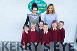 New recruits Junior infants in Knockaderry NS Farranfore.<br /> Front l to r: Sarah Rose, Andrew and Anna Kate Daly, Claire Gleeson, Matthew Smith and Tommy Jones with teachers Stephanie Egan and Kathleen O'Mahoney.