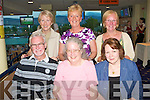 NIGHT AT THE DOGS: Member's of Friends Connect, Killarney enjoying a Night at the Dogs at the Kingdom Greyhound Stadium on Friday front l-r: Michael Galvin, Cattlegregory and Claudia White and Ma?ire Smith, Killarney. Back l-r: Aideen O'Connor, Killarney, Marion McLernon, Tralee and Eileen McSparron, Killarney.
