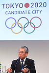 Tsunekazu Takeda, MARCH 4, 2013 : Tsunekazu Takeda attends a press conference about presentations of Tokyo 2020 bid Committee at Hotel Okura in Tokyo, Japan. (Photo by AFLO SPORT)