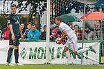 20.07.2018, Parkstadion, Zell am Ziller, AUT, FSP, 1.FBL, SV Werder Bremen (GER) vs 1. FC Koeln (GER)<br /> <br /> im Bild<br /> Simon Terodde (Koeln #09) bejubelt seinen Treffer zum 0:1, <br /> <br /> Foto © nordphoto / Ewert