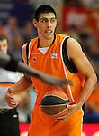 Baloncesto Fuelabrada's Gustavo Ayon during Liga Endesa ACB match.October 30,2011. (ALTERPHOTOS/Acero)
