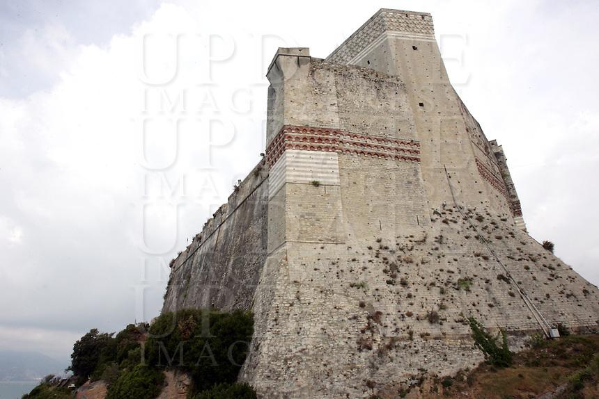 Una veduta del Castello di Lerici.<br /> A view of the Castle of Lerici.<br /> UPDATE IMAGES PRESS/Riccardo De Luca