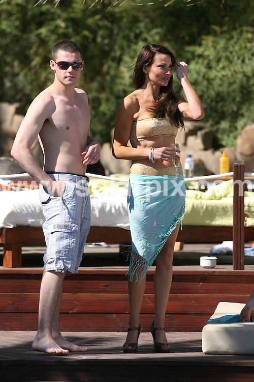 **ALL ROUND PICTURES FROM SOLARPIX.COM**.**WORLDWIDE SYNDICATION RIGHTS**.Opening of Jean Cristoph Novelli opening of his Marbella Restaurant..Guests get together round the pool....This pic:Danny Miller & Lizzy Cundy.JOB REF:  8885      AB/JGS1       DATE:25.04.09.**MUST CREDIT SOLARPIX.COM OR DOUBLE FEE WILL BE CHARGED**.**ONLINE USAGE FEE  GBP 50.00 PER PICTURE - NOTIFICATION OF USAGE TO PHOTO @ SOLARPIX.COM**.**CALL SOLARPIX : +34 952 811 768 or LOW RATE FROM UK 0844 617 7637**