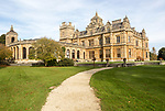 Westonbirt House and School, Tetbury, Gloucestershire, England, UK designed by Lewis Vulliamy built 1863-1870