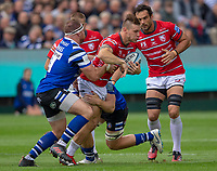 Gloucester Rugby's Jason Woodward in action during todays match<br /> <br /> Photographer Bob Bradford/CameraSport<br /> <br /> Gallagher Premiership - Bath Rugby v Gloucester Rugby - Saturday September 8th 2018 - The Recreation Ground - Bath<br /> <br /> World Copyright &copy; 2018 CameraSport. All rights reserved. 43 Linden Ave. Countesthorpe. Leicester. England. LE8 5PG - Tel: +44 (0) 116 277 4147 - admin@camerasport.com - www.camerasport.com