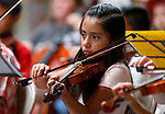 """Images from the Carson City Symphony Association's """"Strings in the Summer"""" performance at the Carson Mall, in Carson City, Nev., on Thursday, July 11, 2019.<br /> Photo by Cathleen Allison/Nevada Momentum"""