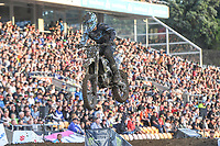 Blake Lily (USA)<br /> 2018 SX Open - Auckland / SX 1<br /> FIM Oceania Supercross Championships<br /> Mt Smart Stadium / Auckland NZ<br /> Saturday Nov 24th 2018<br /> © Sport the library/ Jeff Crow / AME