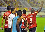 Independiente Medellin  venció 20 a Alianza Petrolera  en el partido ida de los 4tos de la liga del torneo Clusura del futbol Colombiano