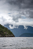CANADA, Vancouver, British Columbia, afternoon view of the Howe Sound