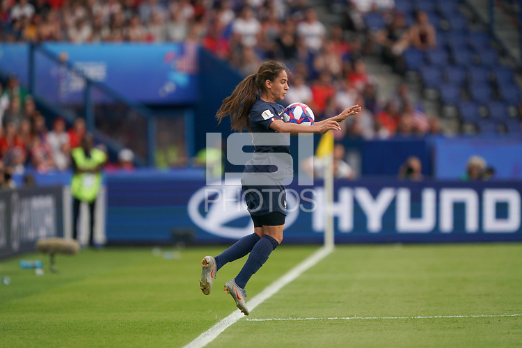 PARIS, FRANCE - JUNE 28: Amel Majri #10 during a 2019 FIFA Women's World Cup France quarter-final match between France and the United States at Parc des Princes on June 28, 2019 in Paris, France.