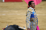 25 March 2005: Matador Jose Luis Angelino. The Corrida de Toros, or bullfights, took place at the Plaza Silverio Perez in Texcoco, Mexico on Friday, March 25th..