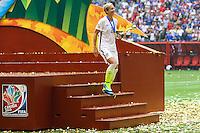 VANCOUVER, CANADÁ, 05.07.2015 - EUA-JAPÃO -Abby Wambach dos Estados Unidos durante partida contra o Japão jogo válido pela final da Copa do Mundo de Futebol Feminino no Estádio BC Place em Vancouver  no Canadá neste domingo, 05. (Foto: William Volcov/Brazil Photo Press)