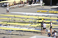 Poznan, POLAND, GV Boating Area, FISA World Rowing Championships. held on the Malta Rowing lake, Thursday  20/08/2009 [Mandatory Credit. Peter Spurrier/Intersport Images]