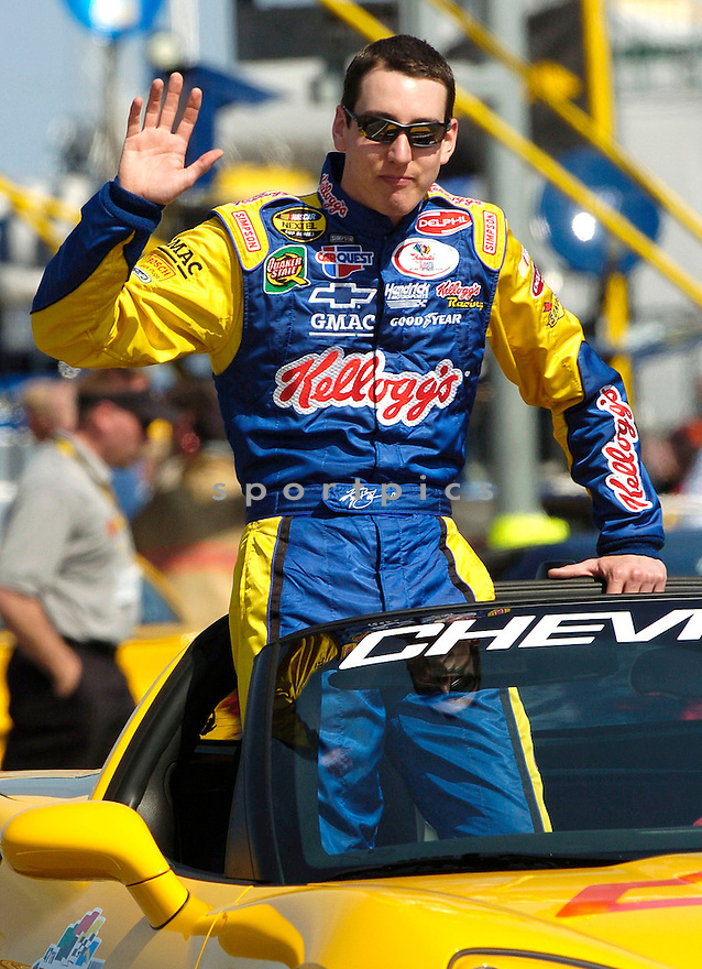 Kyle Busch during the 2005 Daytona 500...David Durochik / SportPics