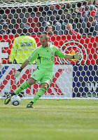 02 April 2011: Toronto FC goalkeeper Stefan Frei #24 in action during an MLS game between Chivas USA and the Toronto FC at BMO Field in Toronto, Ontario Canada..The game ended in a 1-1 draw.
