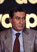 Nicola Mancino .già vicepresidente del Consiglio superiore della magistratura, già ministro dell'Interno e Presidente del Senato..Nicola Mancino  is an Italian politician. He was President of the Italian Senate from 1996 to 2001. He was also Minister of the Interior from 1992 to 1994.