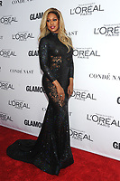BROOKLYN, NY - NOVEMBER 13: Laverne Cox  at Glamour's 2017 Women Of The Year Awards at the Kings Theater in Brooklyn, New York City on November 13, 2017. Credit: John Palmer/MediaPunch
